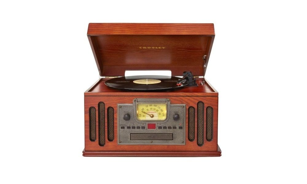 crosley record player how to play record