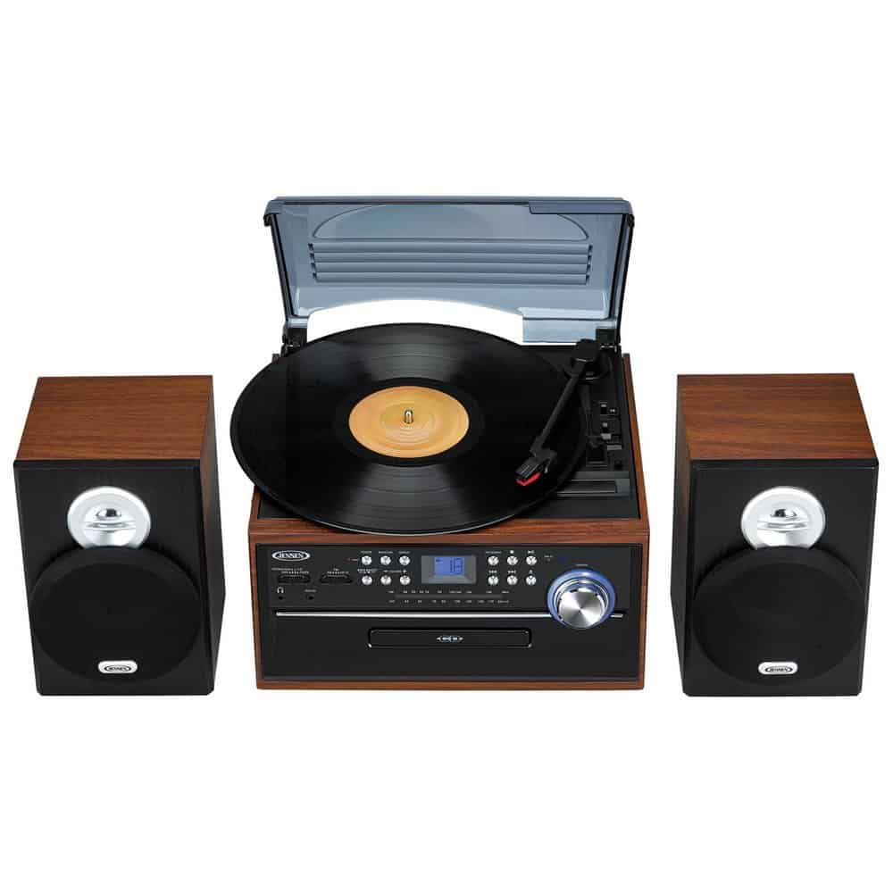 Jensen JTA475W All-In-One Turntable