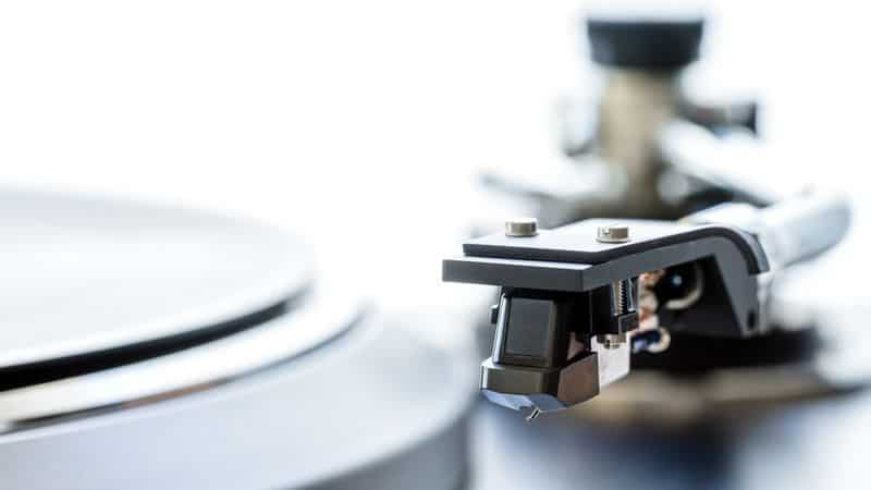 Vintage turntable cartridge