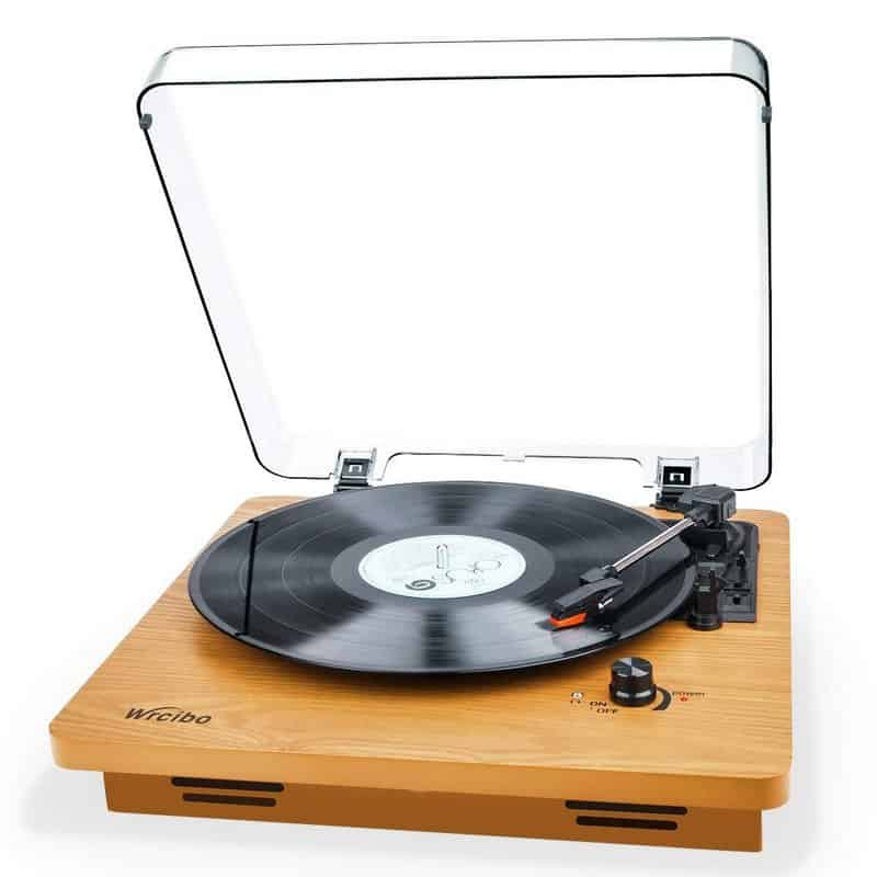 Wrcibo Vintage Record Player Review