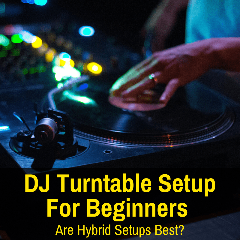 Good DJ turntable setup for a beginner