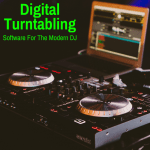 Digital turntable DJ equipment