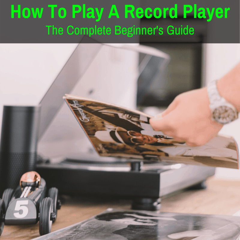 Learning how to play a record player