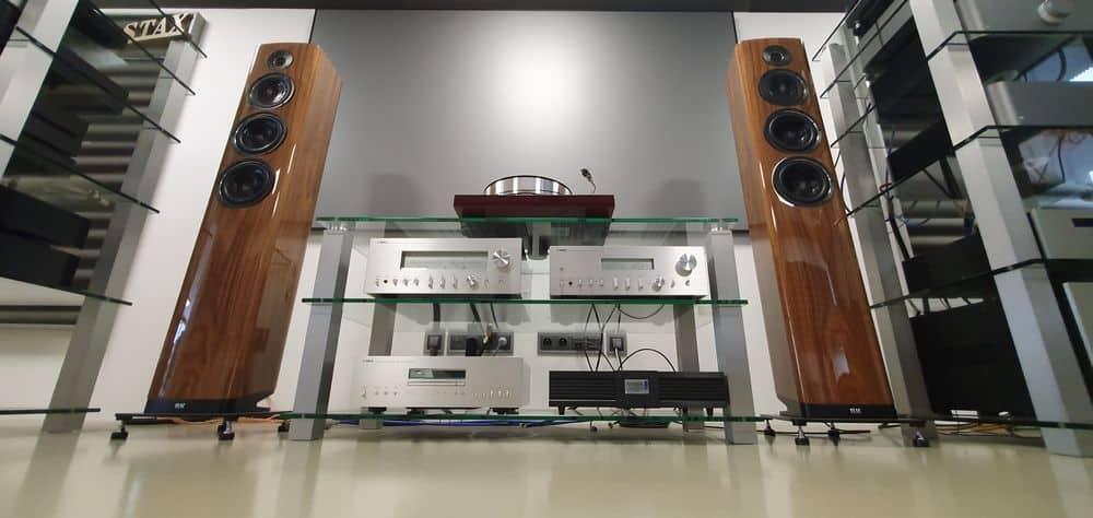 passive speaker stereo system