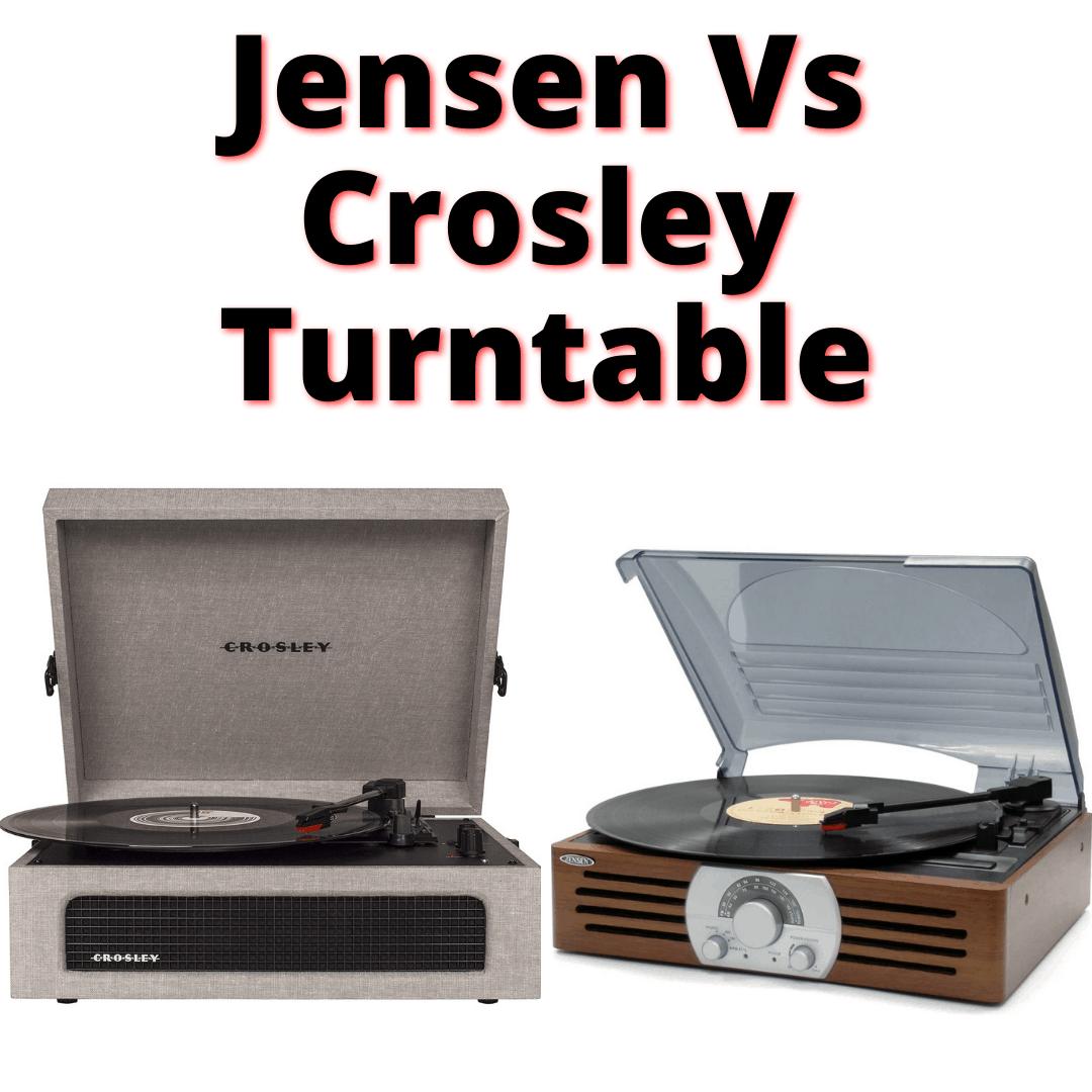 Jensen Vs Crosley Turntable