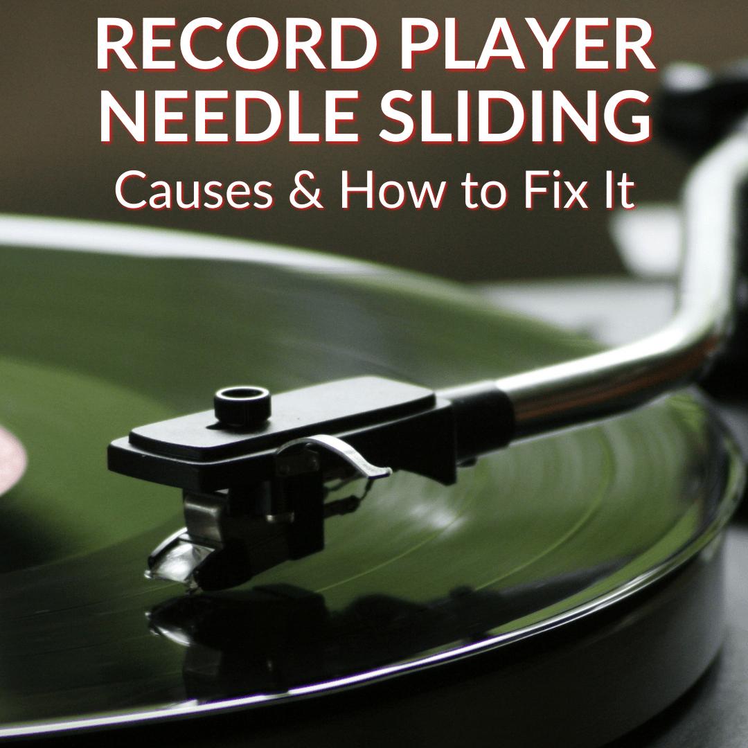 Record Player Needle Sliding